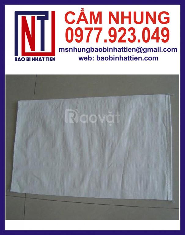 Bao PP màu trắng đựng bột có lồng túi PE bên trong
