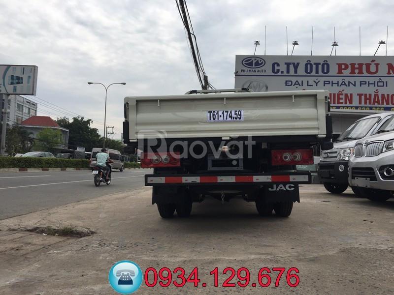 Xe tải Jac 990kg máy dầu thùng dài 3.2m trả góp giá rẻ