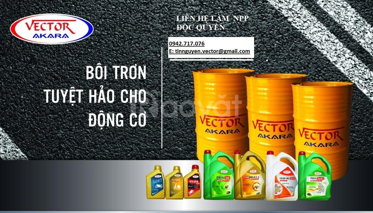 Tìm đại lý, nhà phân phối độc quyền dầu nhớt Vector trên toàn quốc