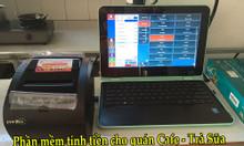 Bán trọn bộ phần mềm tính tiền cho quán nhậu- quán ăn tại Cao lãnh