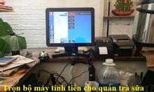 Bán máy in hóa đơn, phần mềm quản lý bán hàng cho quán trà sữa giá rẻ