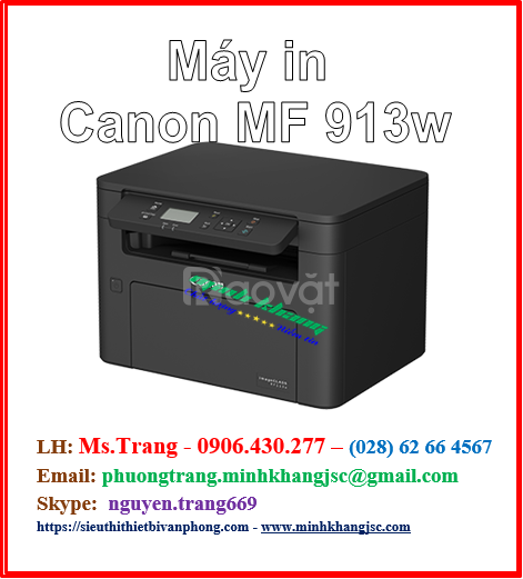 Máy in đa năng Canon MF 913w chính hãng giá rẻ