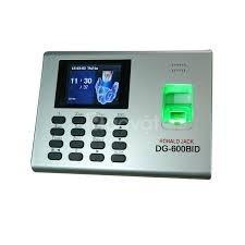 Máy chấm công, máy chấm công vân tay có pin lưu điện RJ DG600BID