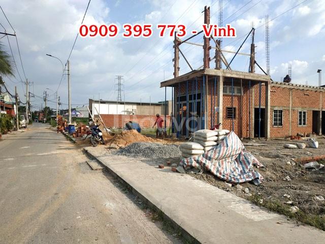 Đất 5x24= 120m2 mặt tiền An Phú Đông 27 quận 12