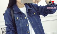Cửa hàng thời trang bigsize HT-Fashion - Áo khoác jean bigsize nữ