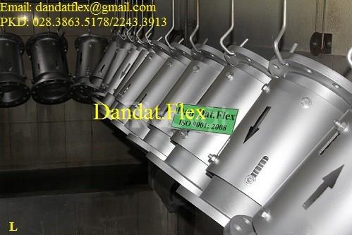 Khớp giãn nở inox (model: DE-200) - Ống mềm inox chịu nhiệt cao (ảnh 1)
