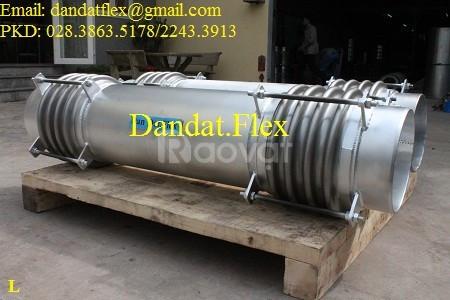 Khớp giãn nở inox (model: DE-200) - Ống mềm inox chịu nhiệt cao (ảnh 3)