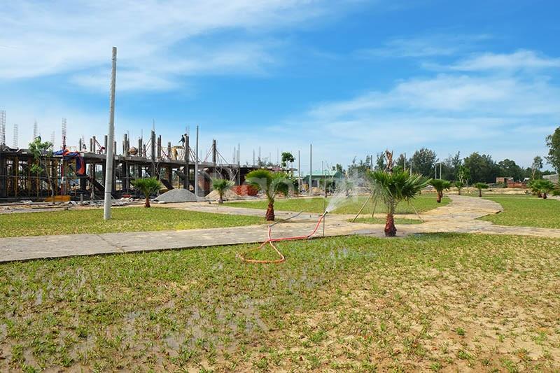 Mở bán 25 nền đất mặt tiền và 5 lô góc mặt tiền đường tên lửa mở rộng