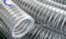 Ống nhựa pvc trong suốt xoắn kẽm chịu áp