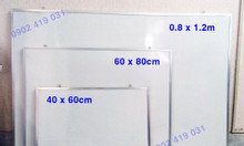 Bảng viết bút lông 0.8 x 1.2m