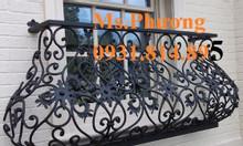 Thiết kế, gia công ban công sắt nghệ thuật cho nhà đẹp HCM