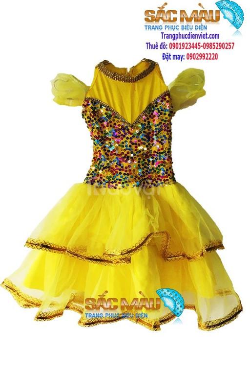 May bán sỉ cho thuê đầm múa trẻ em mẫu đẹp