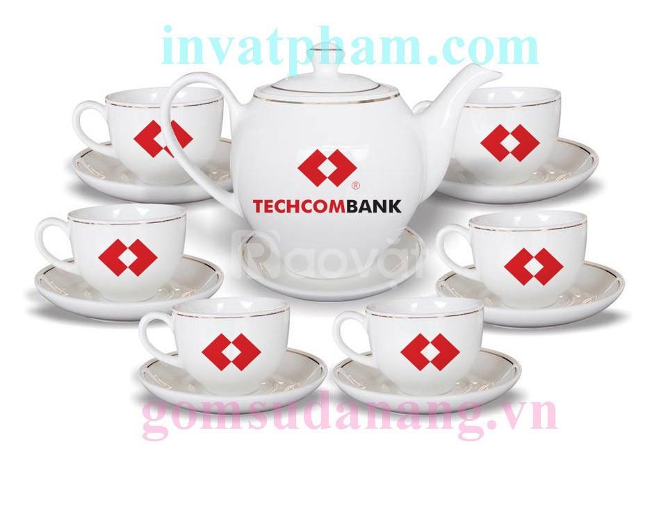 In bộ ấm trà tại Huế, in bộ tách trà quà tặng tại Huế