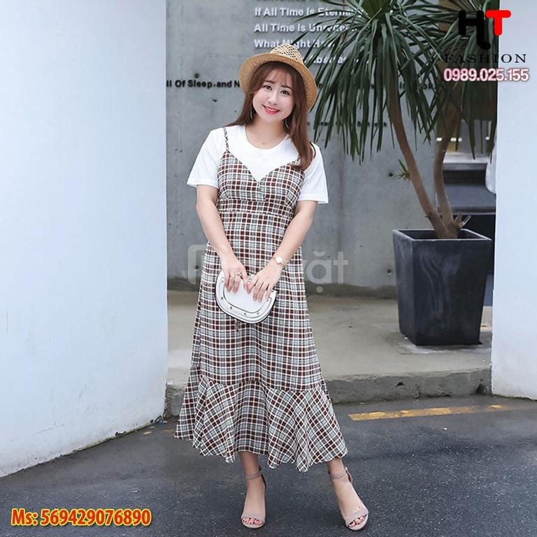 [Big size HT-Fashion] Váy đầm cho người gầy ở Hà Nội