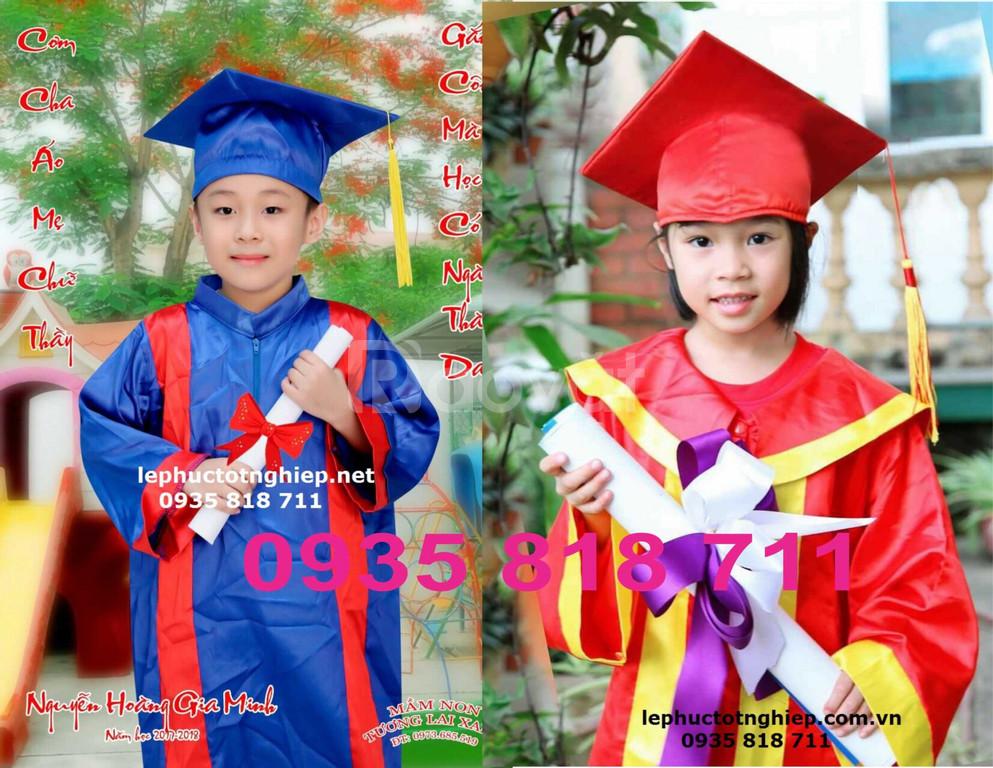 Aó tốt nghiệp mầm non tiểu học Gò Vấp HCM