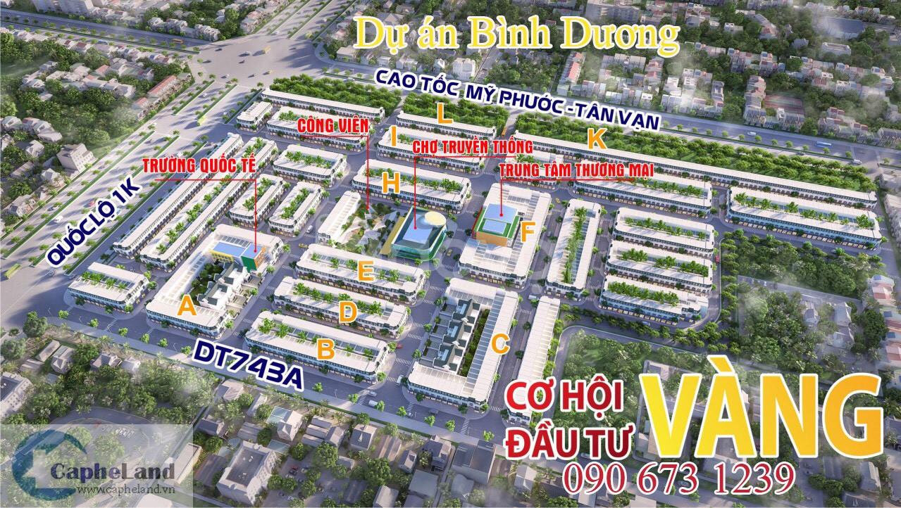 Dự án Bình Dương bất động sản Bình Dương nhà đất giá tốt