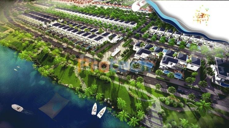 Bán đất biệt thự, view sông Cổ Cò, cách Hội An 8km