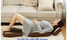 Đệm massage 30 bi giảm đau toàn thân, đệm ghế mát xa 6D Hàn Quốc mẫu m