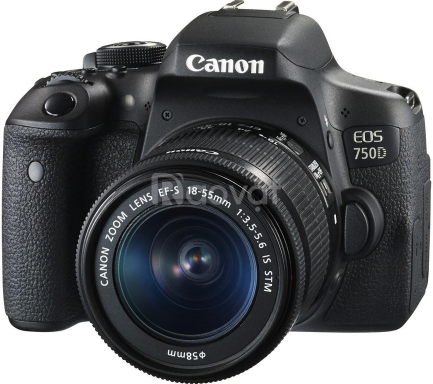 Máy Ảnh Canon 750D + 18-55mm STM