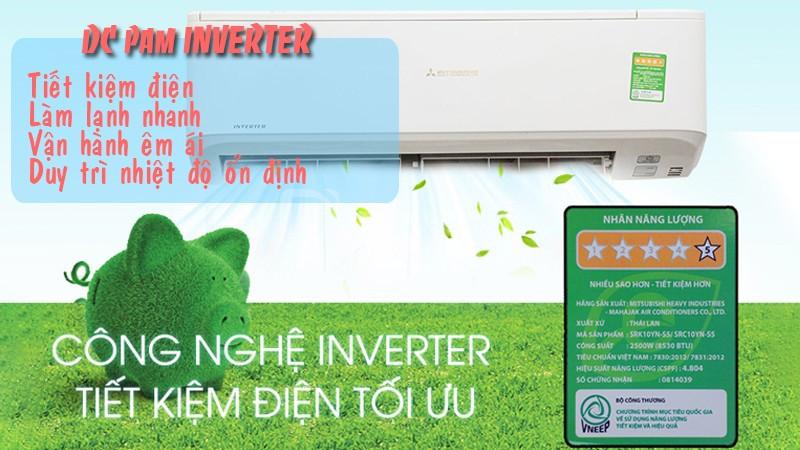 Cung cấp lắp đặt máy lạnh treo tường Mitsubishi Heavy Gas R410a