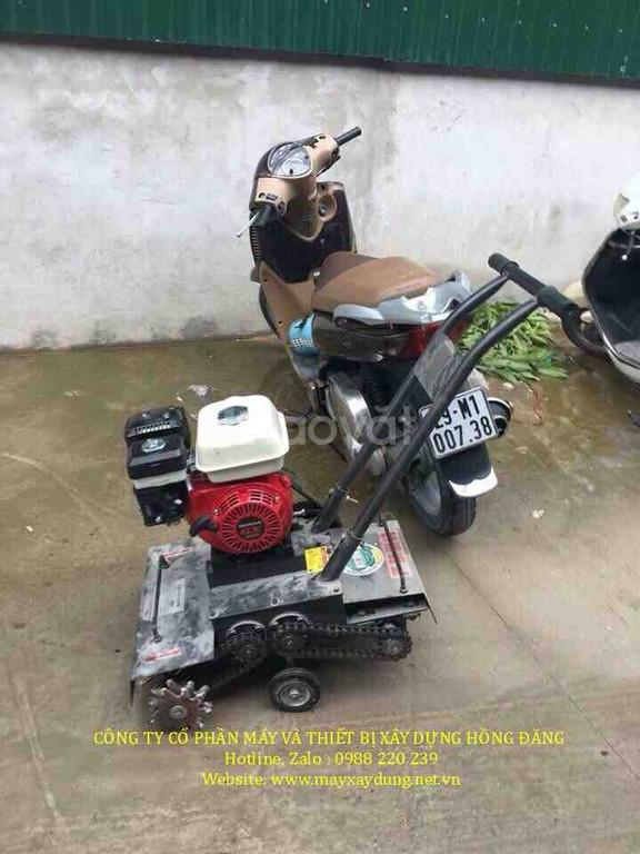 Máy băm nền bê tông chạy xăng, máy băm nền bê tông chạy điện