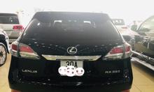 Bán Lexus RX350 màu đen,nội thất kem,sản xuất và đký 2015,biển Hà Nội