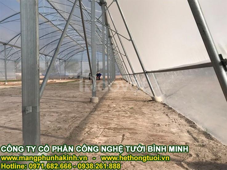 Cách làm nhà lưới đơn giản, tự làm nhà lưới, cách làm nhà lưới