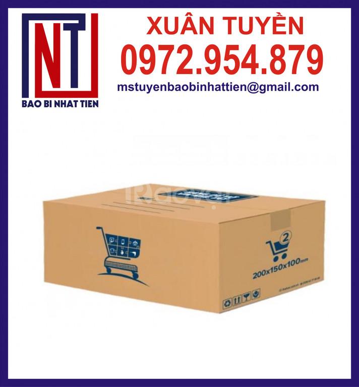 Bao bì carton giá rẻ, thùng carton 5 lớp