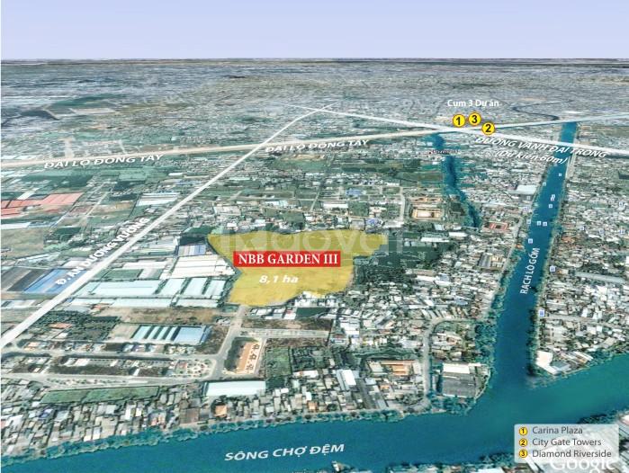 Chỉ 300 triệu sở hữu ngay căn hộ City Gate 3, Q8. trả góp 3 năm 0%