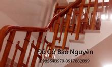Bán cầu thang ziczac gỗ lim châu phi tại Cầu Giấy