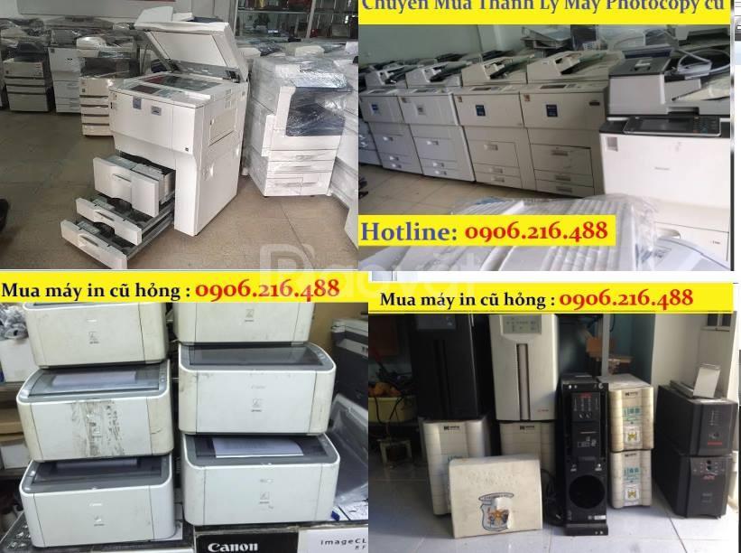 Mua thanh lý máy in canon, máy in hp, máy in Epson, máy in cũ hỏng