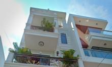 Nhà 1 trệt, 1 lửng, 2 lầu 4x15.5, đường 8m, Lề 8m, Phạm Văn