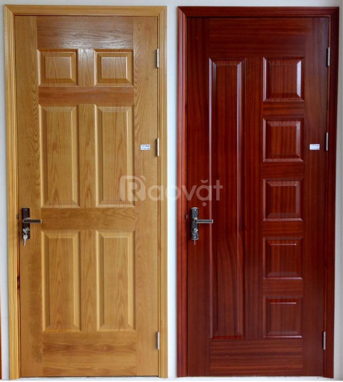Cửa gỗ công nghiệp cho cửa phòng ngủ cửa HDF veneer