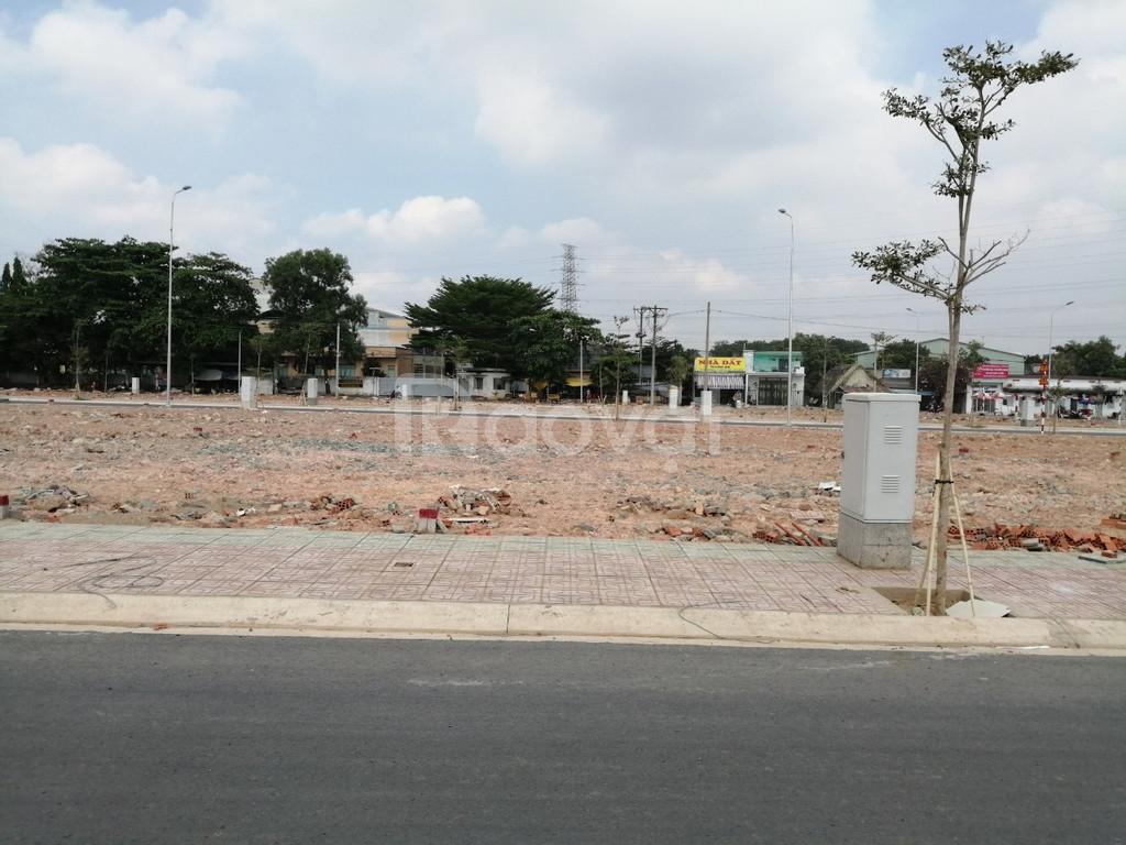Đất nằm ngay MT đường, sổ đất riêng từng nền, đất thổ cư, CSHT