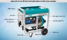 Máy phát điện chạy dầu diezen Total 5kw TP450001