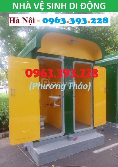 Bán nhà vệ sinh Composite di động giá tốt tại Hà Nội