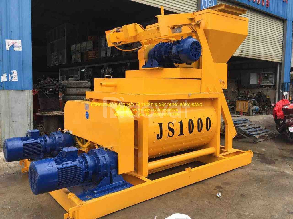 Hồng Đăng - Máy trộn bê tông JS 1000