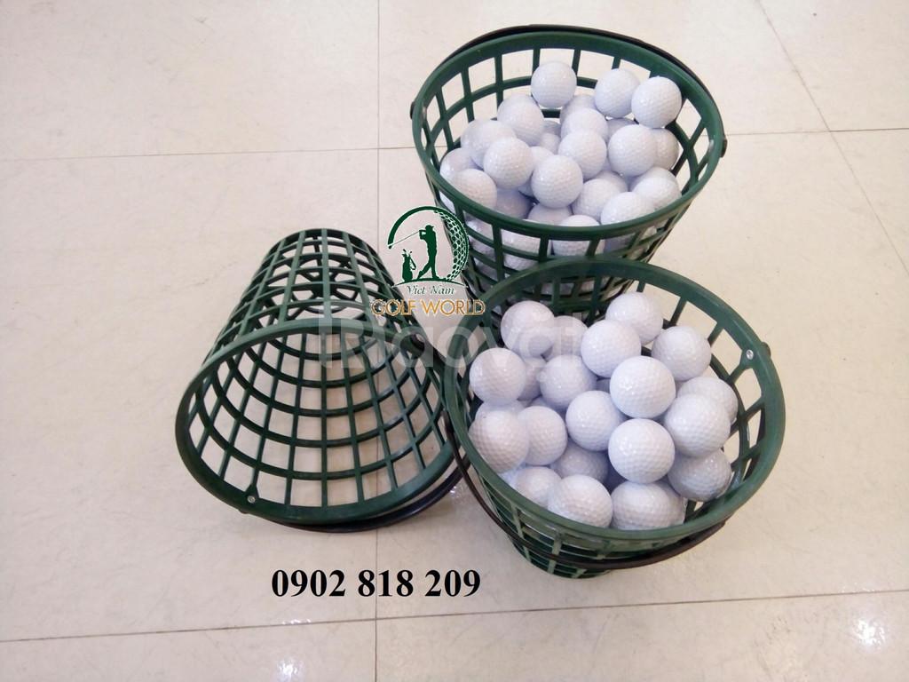 Rổ đựng bóng golf, giỏ banh golf bằng nhựa