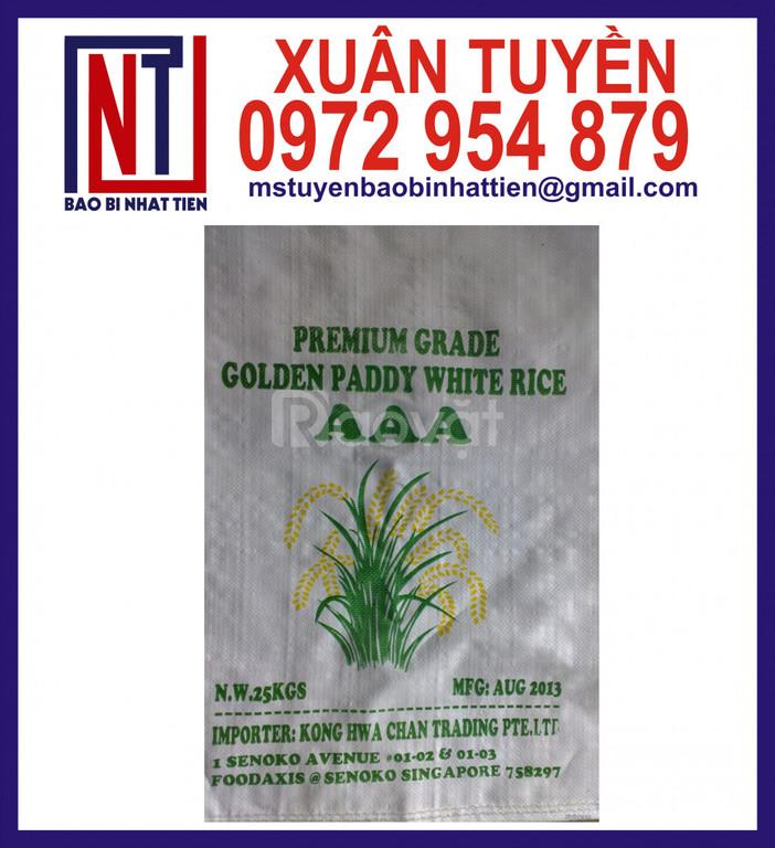 Cung cấp bao PP trắng đựng gạo (ảnh 3)