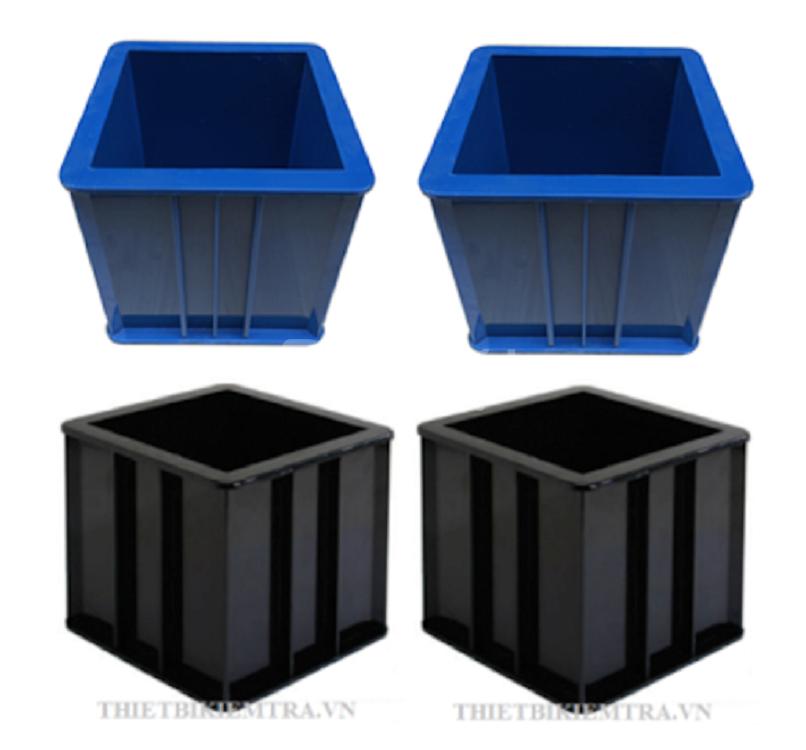 Khuôn đúc mẫu bê tông bằng nhựa giá rẻ