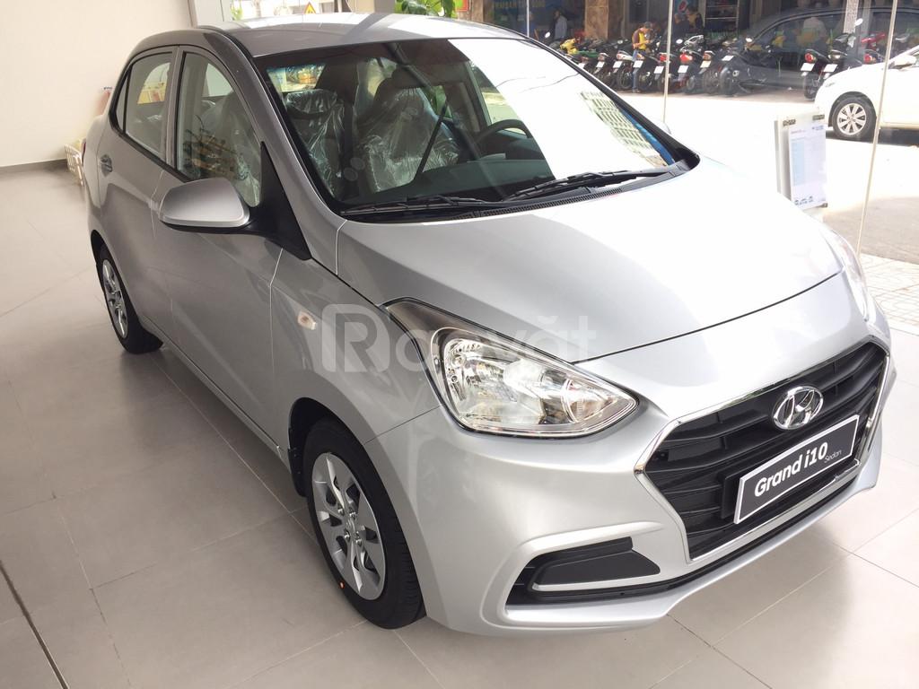 xe Hyundai I10 số sàn chạy taxi, hỗ trợ trả góp 80-90%