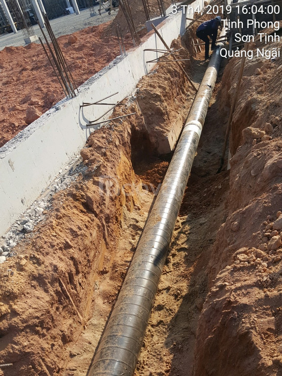 Băng quấn bitum chống ăn mòn ống kim loại PCCC