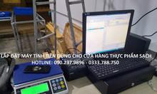 Máy tính tiền dùng cho siêu thị tự chọn giá rẻ tại Kon Tum