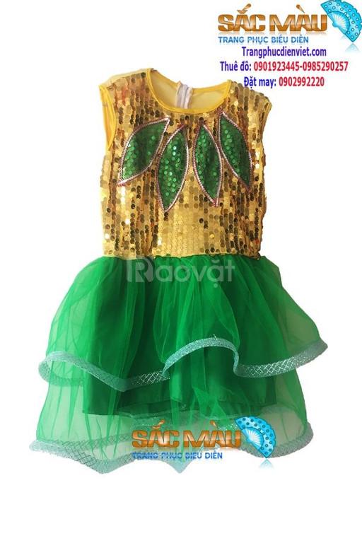 Cho thuê đầm múa trẻ em giá rẻ