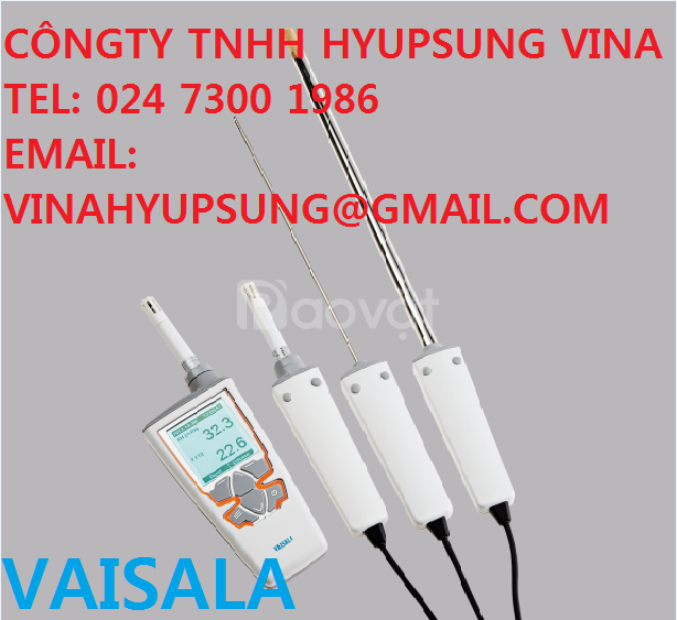 HM40 – Vaisala Việt Nam đo nhiệt độ, độ ẩm