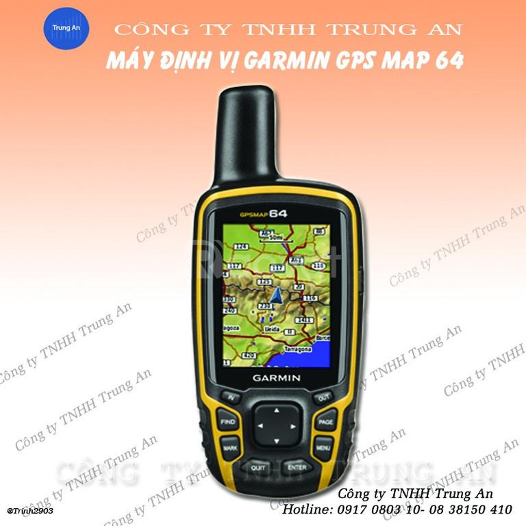 Máy đo diện tích đất GPS cầm tay Garmin Map 64
