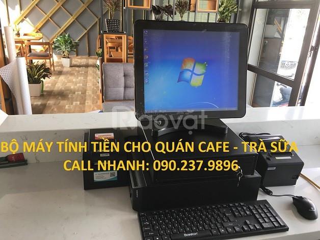 Lắp đặt máy tính tiền giá rẻ cho quán trà sữa, cafe tại Kon Tum