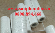 Lõi lọc sợi quấn cotton core inox 10 inch lọc hóa xi mạ