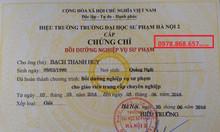 Chứng chỉ nghiệp vụ sư phạm chuẩn bộ GD&ĐT 0978868657 Ms Thảo