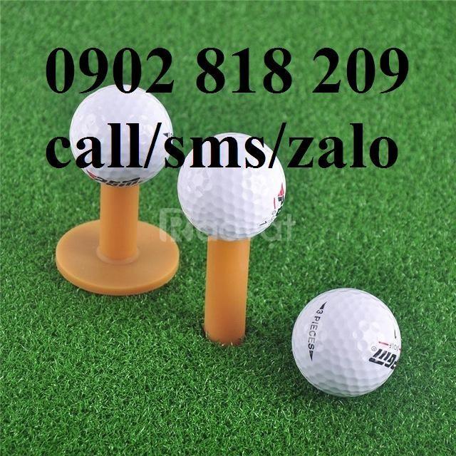 Tee golf cao su vàng nhiều kích thước